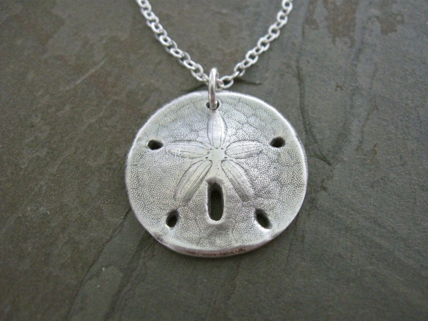 Silver Sand Dollar Necklace Hand Cast From By. Style Bracelet. Open Bangle. October Birthstone Rings. July Birthstone Bracelet. Cartier Bangles. Different Style Rings. Anklets For Her. State Necklace