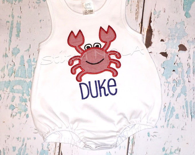 Featured listing image: Crab Shirt, Gown, Bodysuit, Romper or Bubble