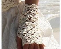 PATTERN wedding accessories mittens fingerless glovers summer bride sexy