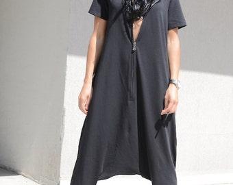 Oversize jumpsuit, black jumpsuit, dungarees, hippy jumpsuit, Maxi black jumpsuit, drop crotch jumpsuit, extravagant jumpsuit, jumpsuit