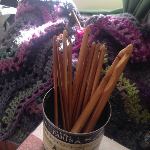 Bamboo Crochet Hooks
