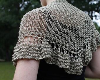 Light lacy shawl
