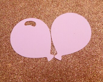 """Balloon Die Cut Bulk, Cut Out Balloons- ANY COLOR- Set of 30- 2"""""""