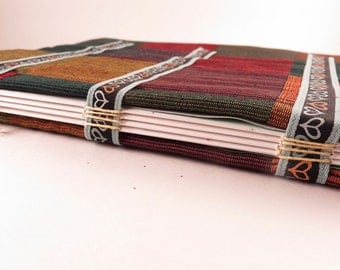 Colored Checks - Handbound journal