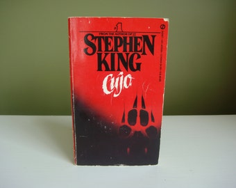 Vintage Paperback Book - Cujo - Stephen King