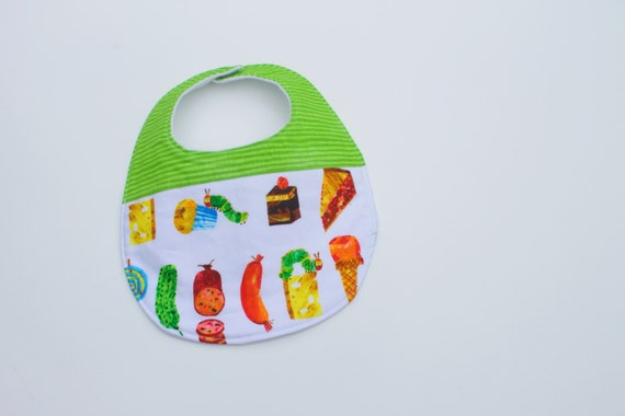 Hungry Caterpillar Bib Hungry Caterpillar Baby by Huckababy