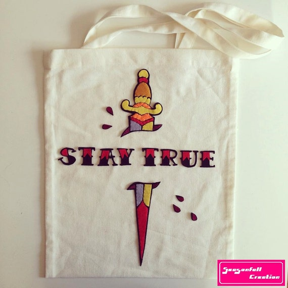Tote Bag Stay True