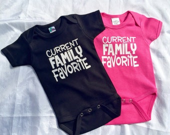 Current Family Favorite baby bodysuit
