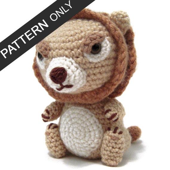 PATTERN Lannister Lion Game of Thrones Amigurumi Crochet ...