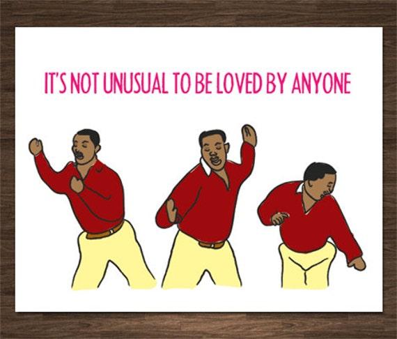 Carlton Banks Card Funny Love Card Funny Valentine Card
