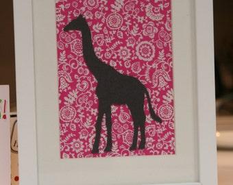 einzigartige artikel zum thema stoff giraffe etsy. Black Bedroom Furniture Sets. Home Design Ideas