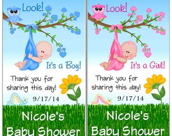 12 Baby Shower Magnets ~ Boy or Girl ~ FREE SHIPPING