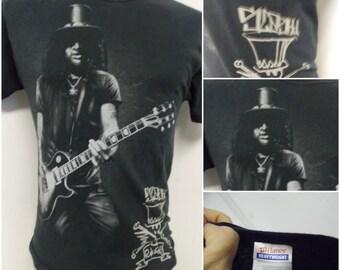 Slash (Guns N Roses) Adult T Shirt Size Medium