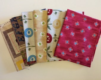 Sale! Tilly Fat Quarter Bundle of 6 by Charlotte Lyons for Blend Fabrics