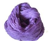 Hand Dyed Sock Yarn, BFL/Nylon Yarn, Knitting Yarn, Sock Knitting Yarn, BFL Sock Knitting Yarn - Hand dyed sock yarn Thistle