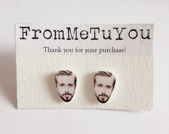 Ryan Gosling stud earrings