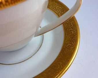 german vintage coffee cup and saucer