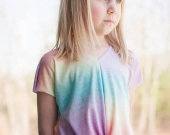 Love Notions Lotus Blossom Blouse for girls 2T-16