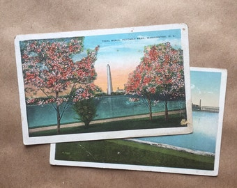 Vintage Postcards - Washington DC