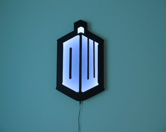 Doctor who light / shade ( Made to order, I don't have stock )