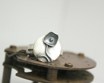 Sterling Silver Ring - Statement