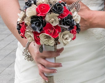 Custom, Handmade Bridal AND Toss Bouquets. Choose Materials, Colors and More!