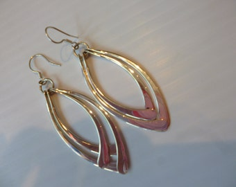 Taxco Silver Earrings Sterling 925 Dangle Style Made in Mexico