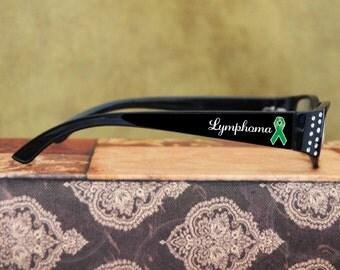 Lymphoma Awareness Reading Glasses