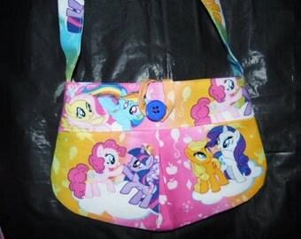 My Little Pony Pleated Girls Purse