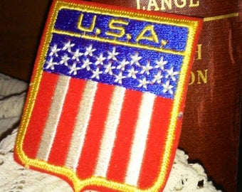 Vintage USA Flag patch, Workwear/Military, military memorbilia,militaria,clothes patch,military patch,collectible patch