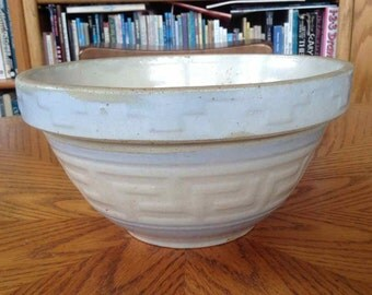 Vintage Ceramic Mixing Bowl #8 - Made in USA - Mid-Century