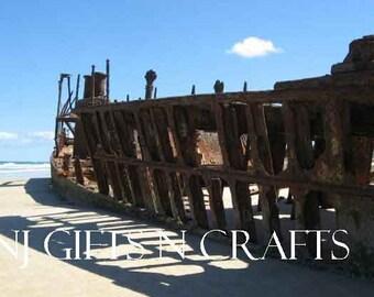 Ship Wreck  Australia Digital Downloadable