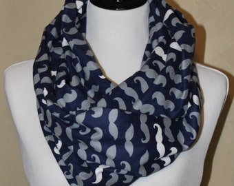 I Mustache You If There's a Cuter Scarf! Infinity Scarf