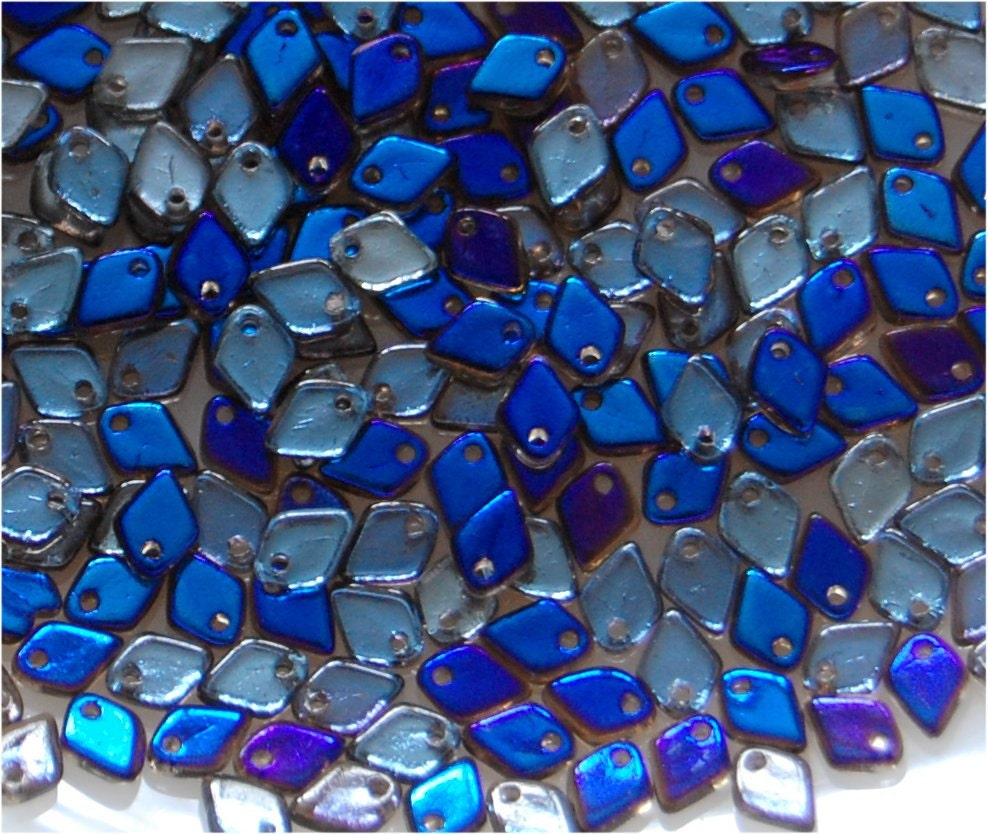 DRAGON SCALE Beads 5mm x 1.5mm Crystal Azuro 00030/22201