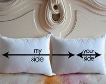 meine seite die ihre seite kissenbez ge benutzerdefinierte kissen. Black Bedroom Furniture Sets. Home Design Ideas