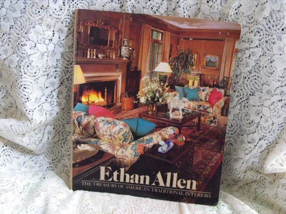 vintage ethan allen furniture catalog early american