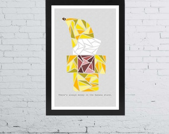 Arrested Development Banana Stand Poster | 11 x 17 Inches