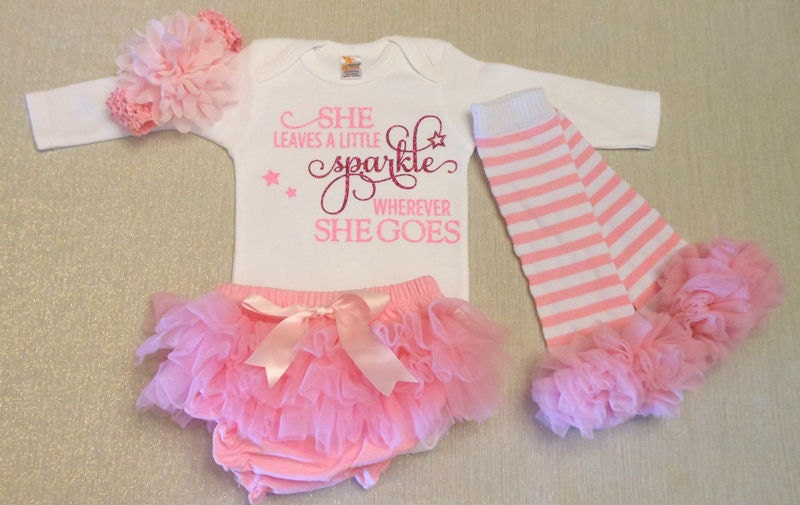 Newborn Girl Take Home Outfit Newborn Girl by ...
