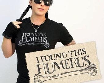 I found this humerus -Bone Anatomical American Apparel shirt (men)