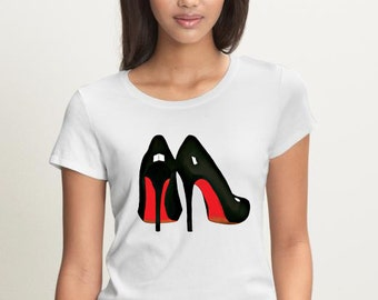 Red Bottoms T-shirt (15-015)