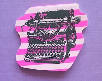Typewriter memoblock (Hema)