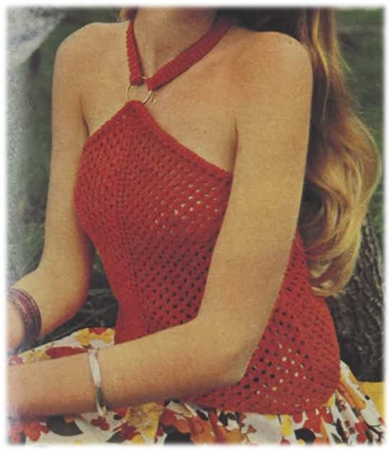 Items similar to Knitting Pattern Vintage 70s-Knitting ...