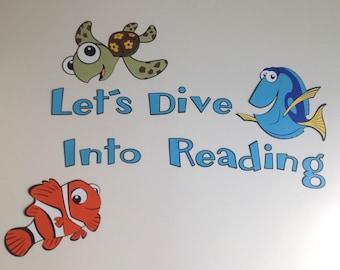 Nemo Reading Bulletin Board (smaller version)