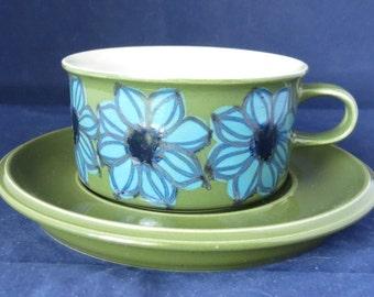 Arabia Finland Hilkka-Liisa Ahola Vintage Coffee cup and saucer