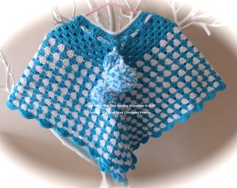 Crocheted Poncho - hand made to order
