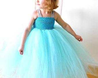 Girl's Ice Blue Tutu Dress