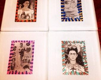 Frida Kahlo Coasters