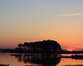 Chincoteague and Black WaterEastern Shore//Photography//Orange Sunset//Rippling Water//Sandy Beach//Sunshine Summer//Dusk//Peaceful Beach