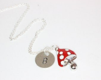 necklace little sparrow with your own letter