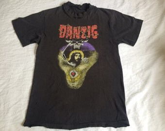 Vtg 80s Medium DANZIG God Don't Like It shirt
